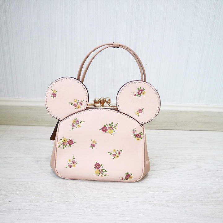 Coach X Mickey kisslock bag