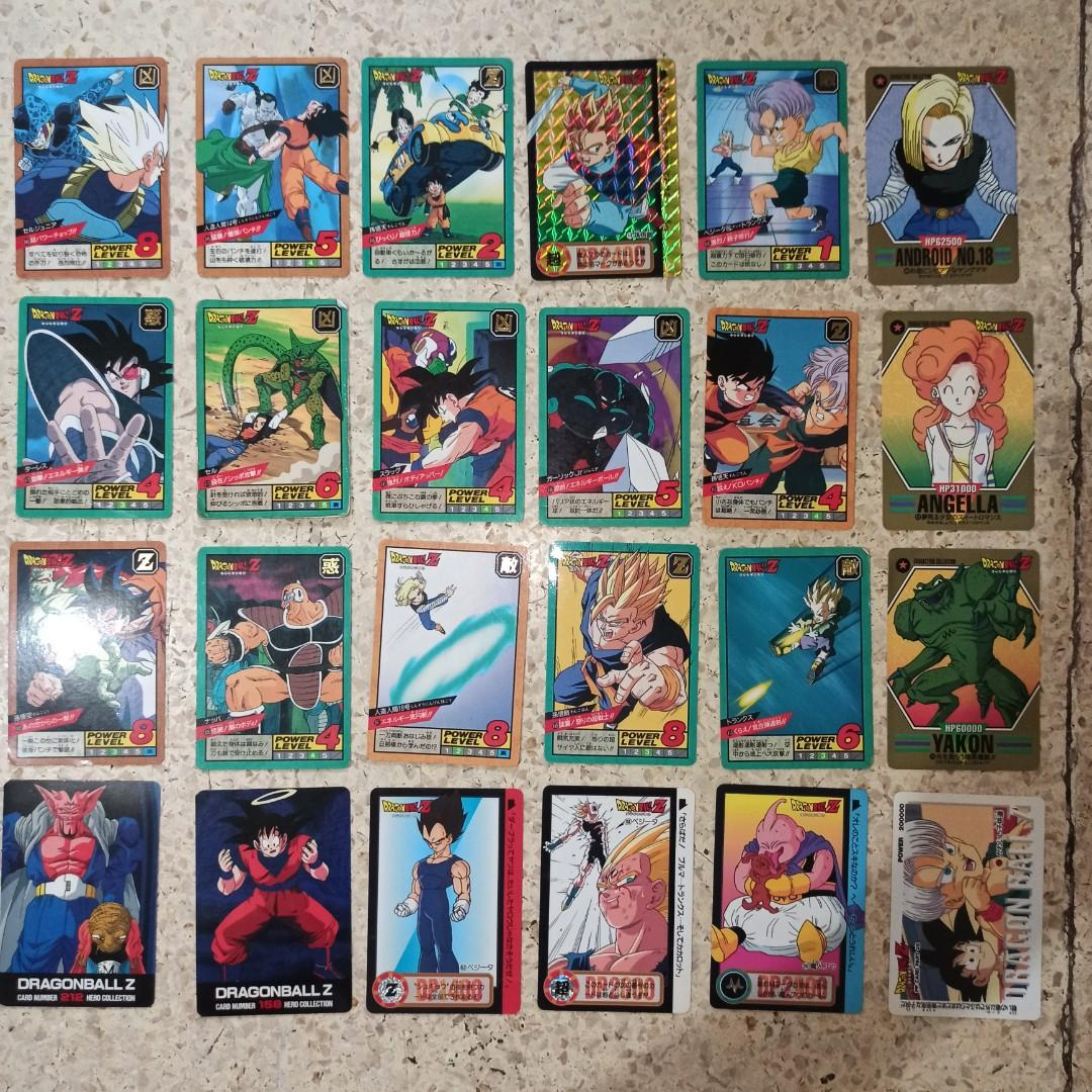 Dragonball Z Card / Kartu Dragonball Z / Vintage Bandai 94