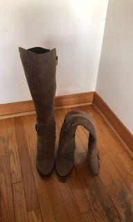 Fergie tall boots