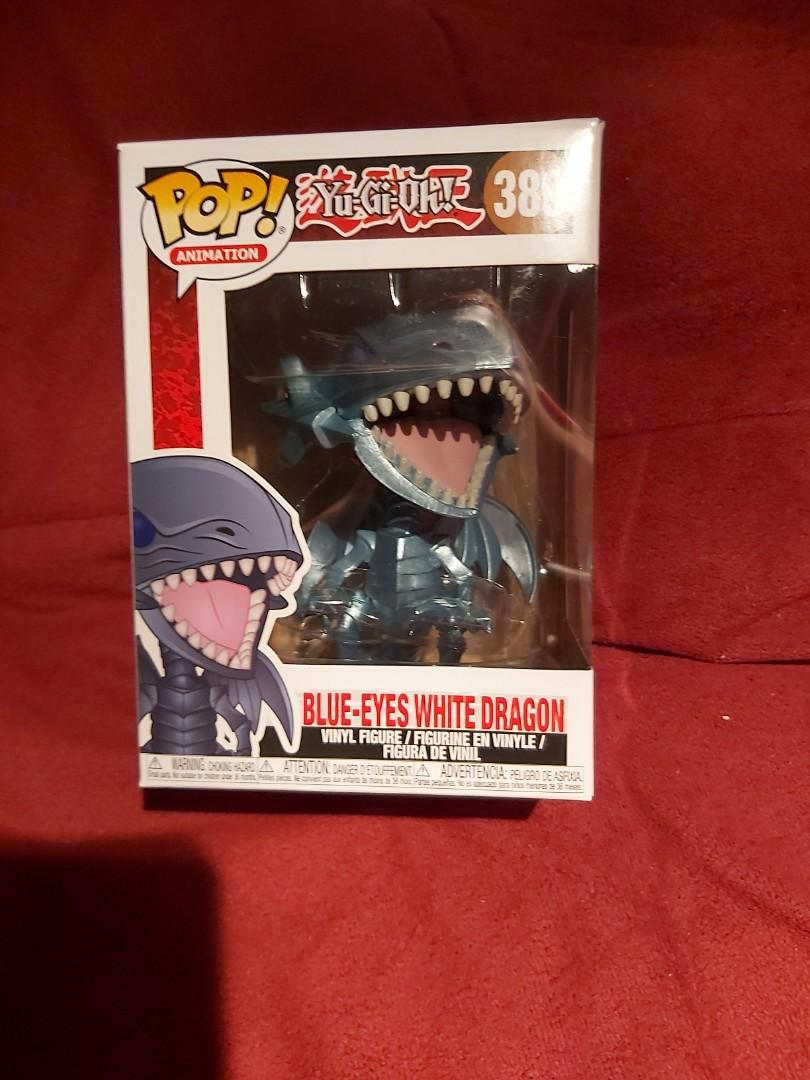FunkoPop Yu Gi Oh Blue Eyes White Dragon