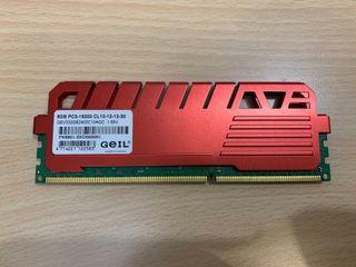 Geil DDR3-2400 8G 記憶體