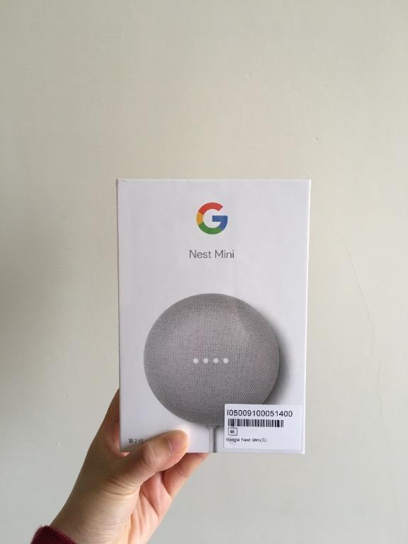 全新未拆封Google Nest Mini(第二代智慧音箱)