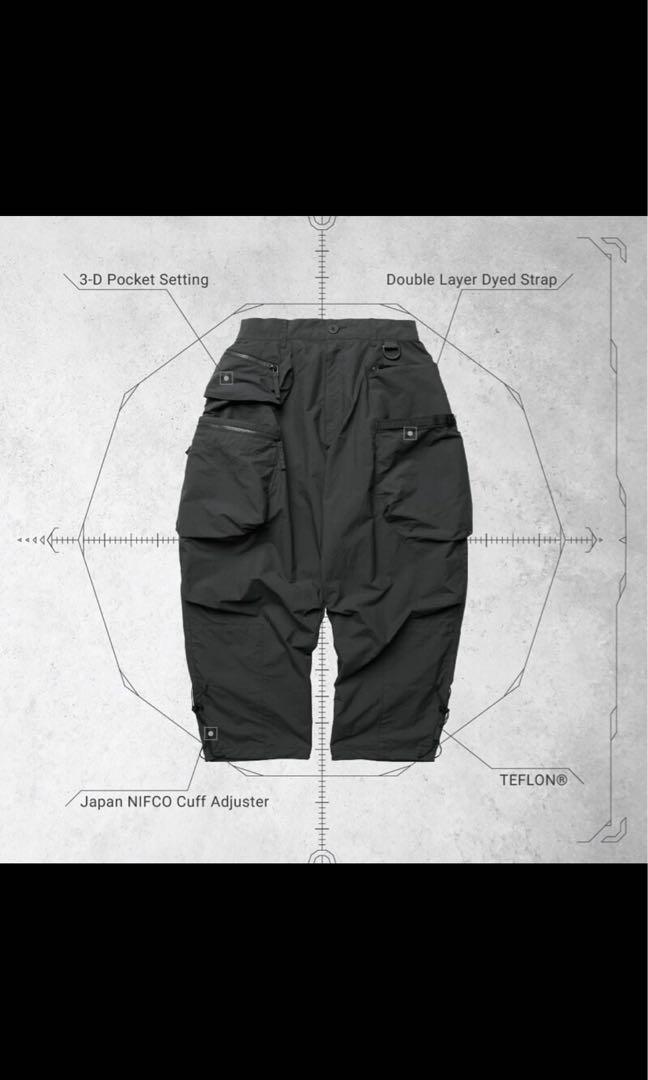 Goopi x Oqliq iP-R02G TRAILOR MSP Cargo Pants Asphalt 灰 3