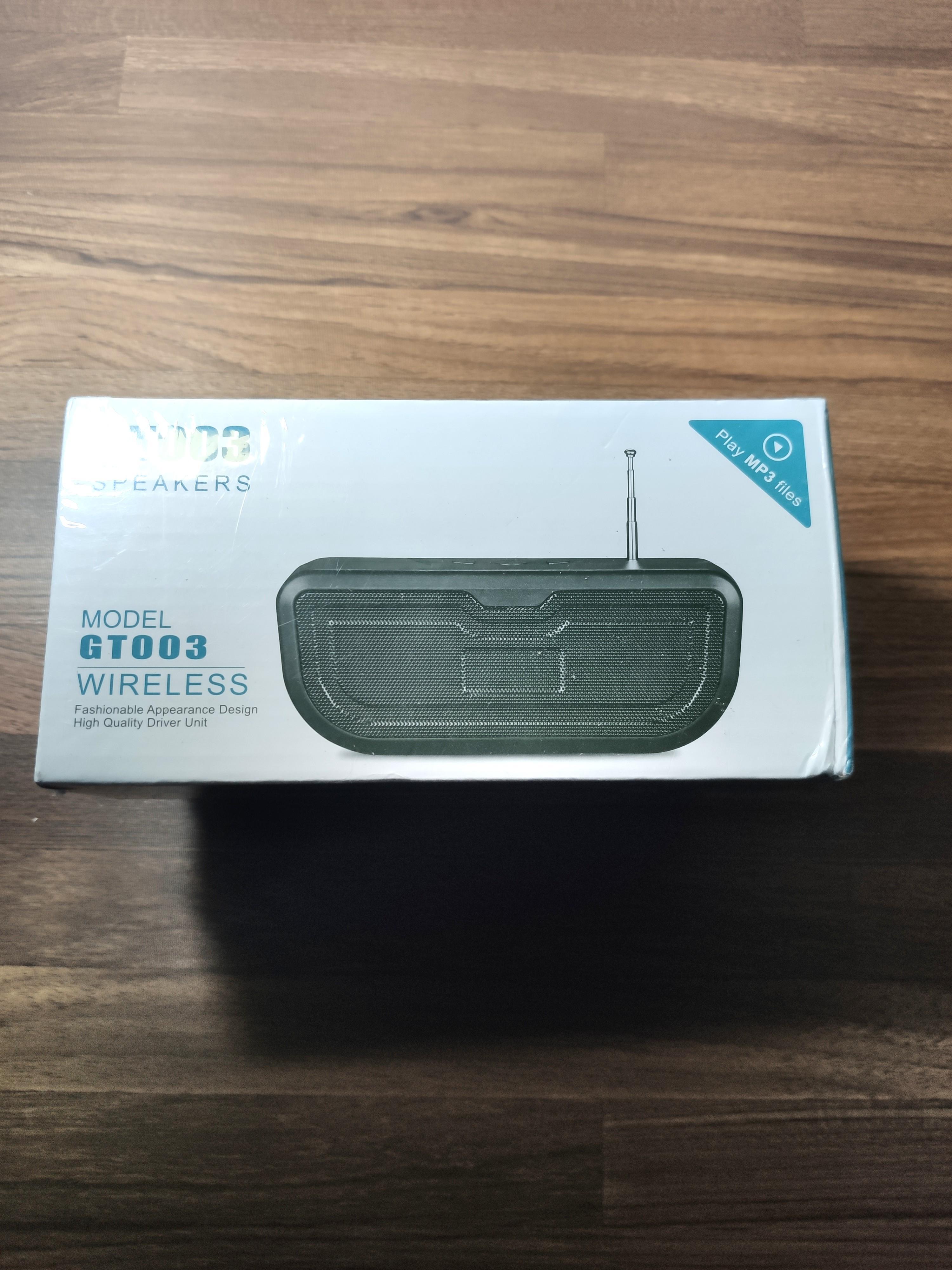 GT003藍芽音響