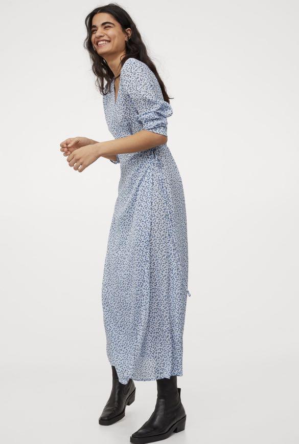 H&M Wrap Floral Dress