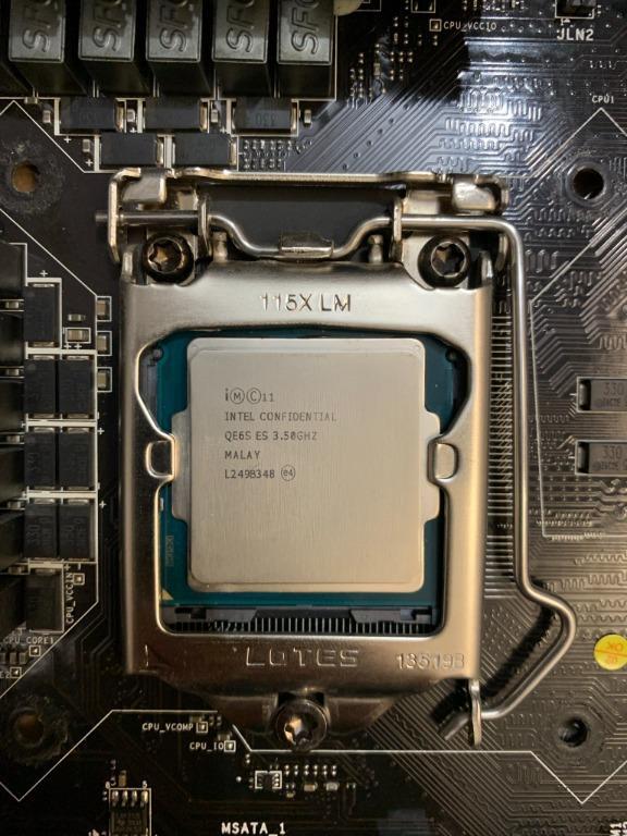 Intel Core i7-4770k(ES) 3.5G/8M + MSI Z87-GD65-Gaming