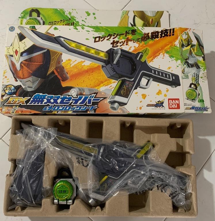 Kamen Rider Gaim DX Musou Saber Melon Lockseed Masked