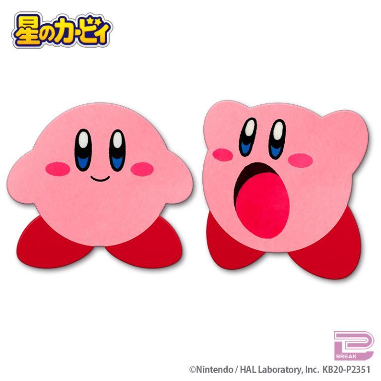 Kirby Big Floor Mat 星のカービィおおきなフロアマット にっこり