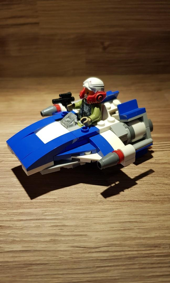 LEGO 75196 A-Wing ONLY (Loose)