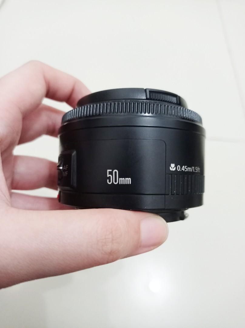 Lensa Fix Canon EF 50mm F1. 8 STM
