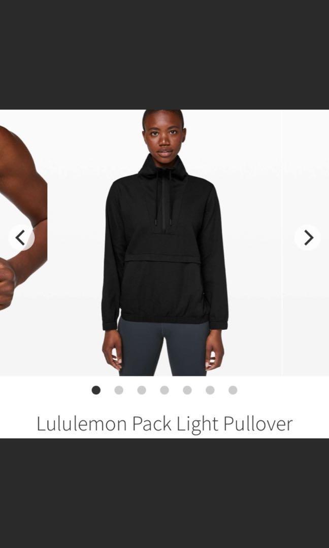 Lululemon pack light jacket size 4