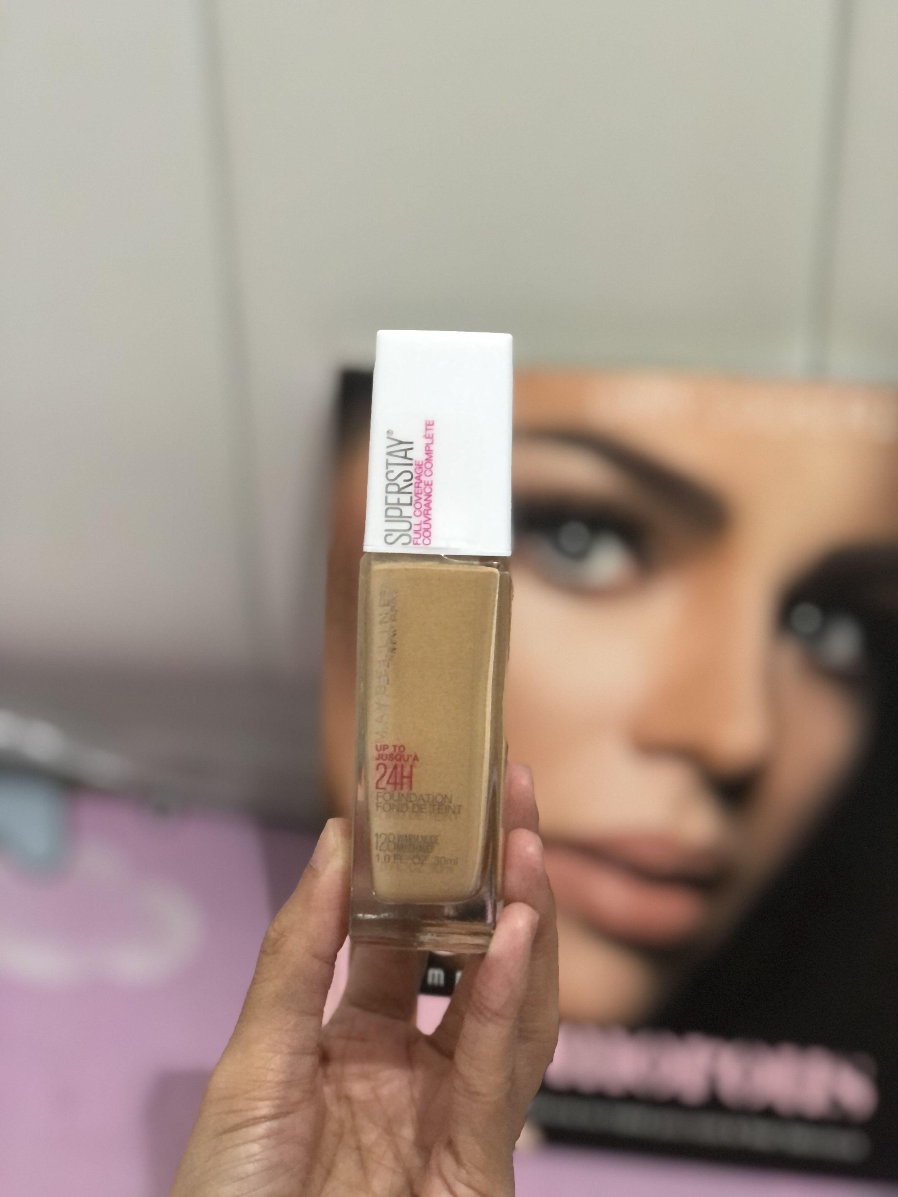 Maybelline Superstay Foundation 24H (128 Warm Nude)