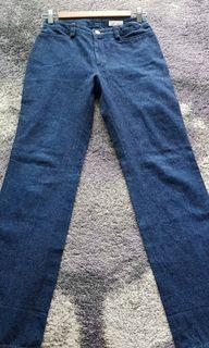 法國Michel Klein全棉直筒牛仔褲
