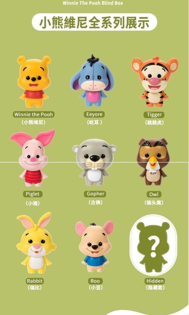 Miniso Winnie the Pooh and Friends