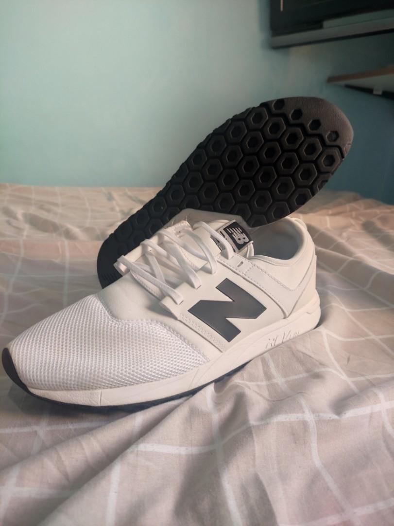 New Balance MRL247 White on Black