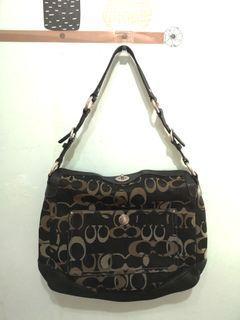 ORIGINAL Coach shoulder canvass bag