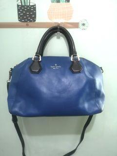 ORIGINAL KS KATE SPADE ♠ Blue 2way bag not coach mk