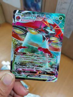 Pokemon Card set 7 B - ORBEETLE VMAX