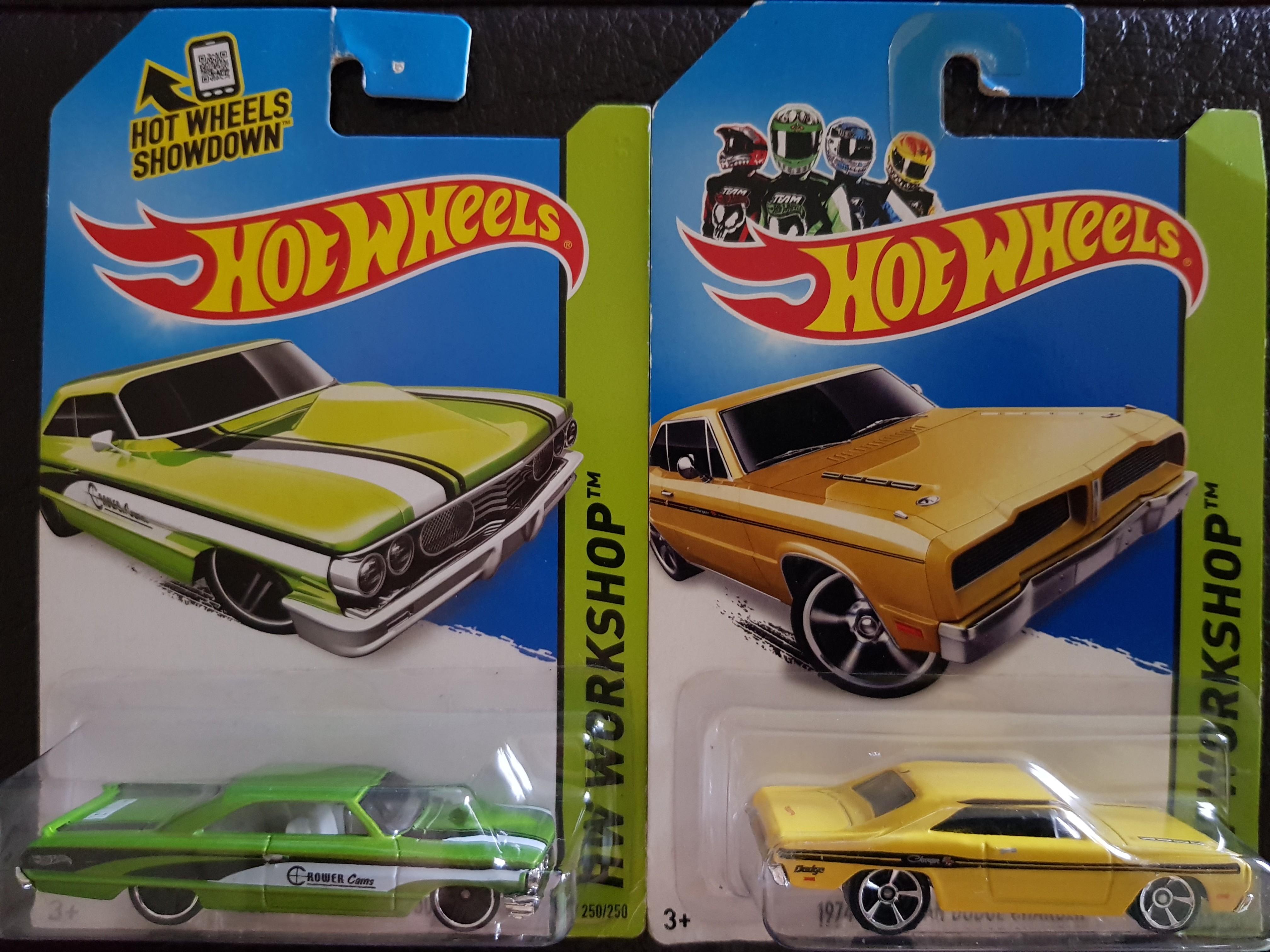 Rare Hotwheels Ford Galaxie, Dodge Charger sale! Hot wheels