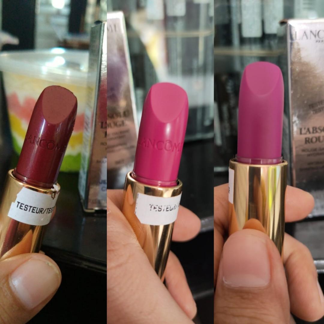 SALEEE!! 4pcs/200rb Lancome L'absolu Rouge Lipstick