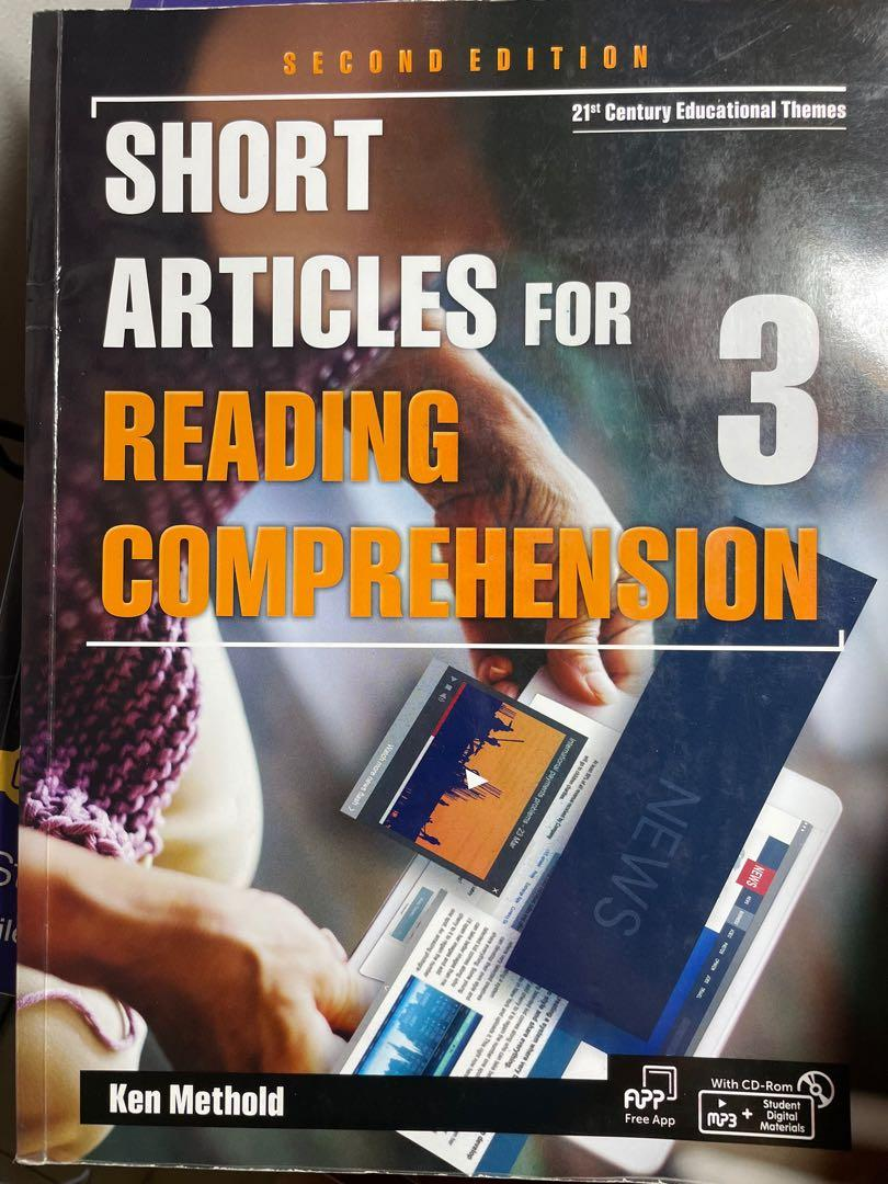 Short articles for reading comprehension 英文3