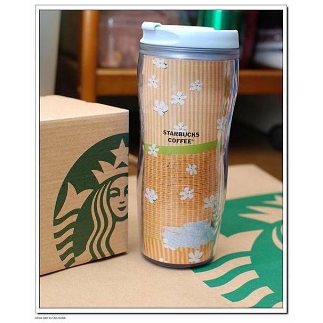 Starbucks 星巴克 賞花道限量隨行杯(16oz)~大杯~最佳禮物