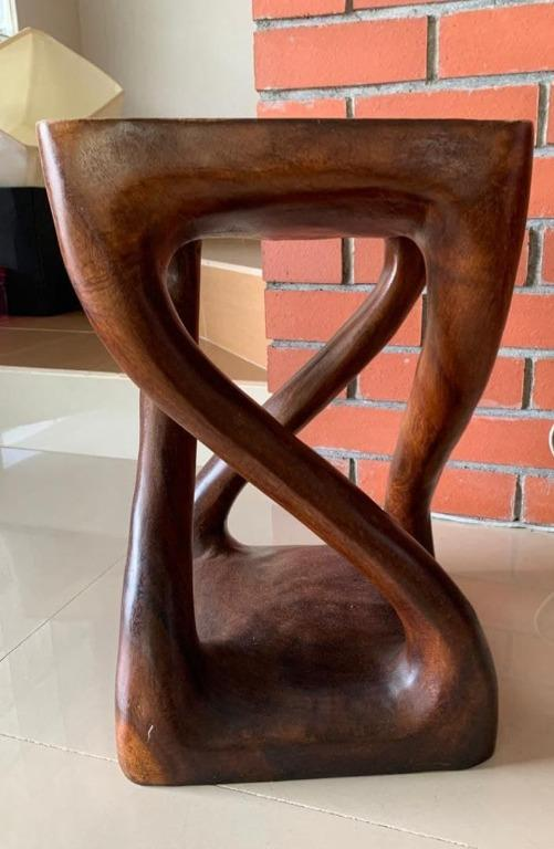 Teak Wood Square Chairs