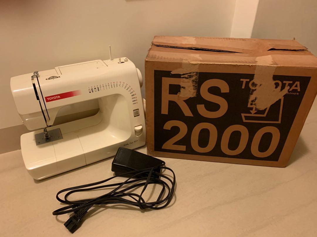 TOYOTA RS-2000 裁縫機 縫紉機