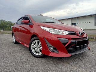 TOYOTA VIOS 1.5 E FACELIFT (A) 7 SPEED PUSH START TIPTOP CONDITION FULL SERVICE RECORDS