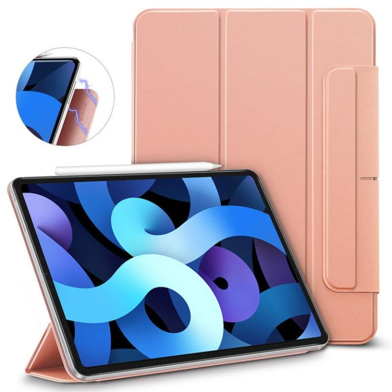 Trifold Magnetic Slim Case for iPad Air 4  (Rose Gold)