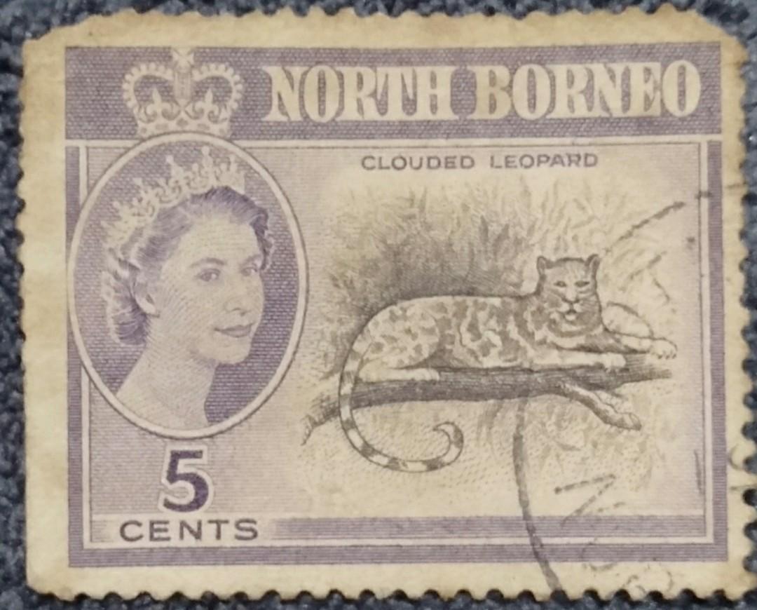 """Used North Borneo Stamps""""Rare"""""""