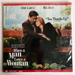 When a Man Loves a Woman當男人愛上女人-安迪嘉西亞Andy Garcia 梅格萊恩Meg Ryan(雷射影碟LD)