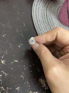 月光石活圍戒指