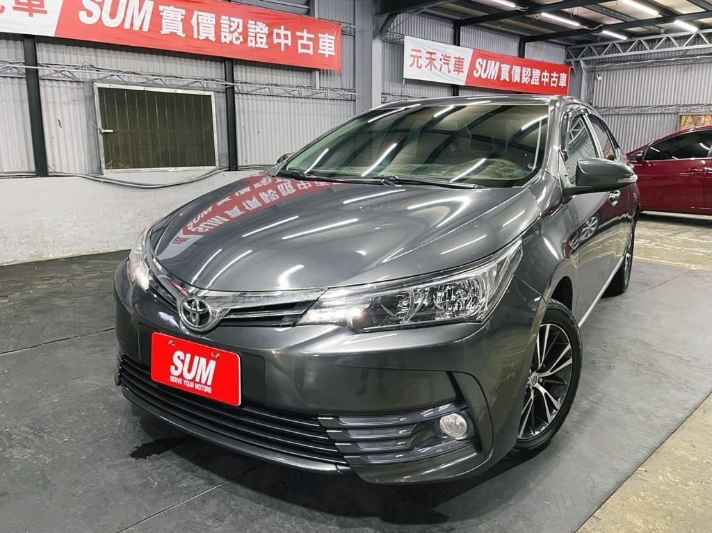 里程僅跑六萬 2018年 出廠 Toyota 豐田 Corolla Altis 1.8L E-HI豪華版