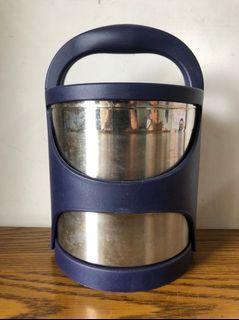 妙廚師 日式雙層手提保溫提鍋