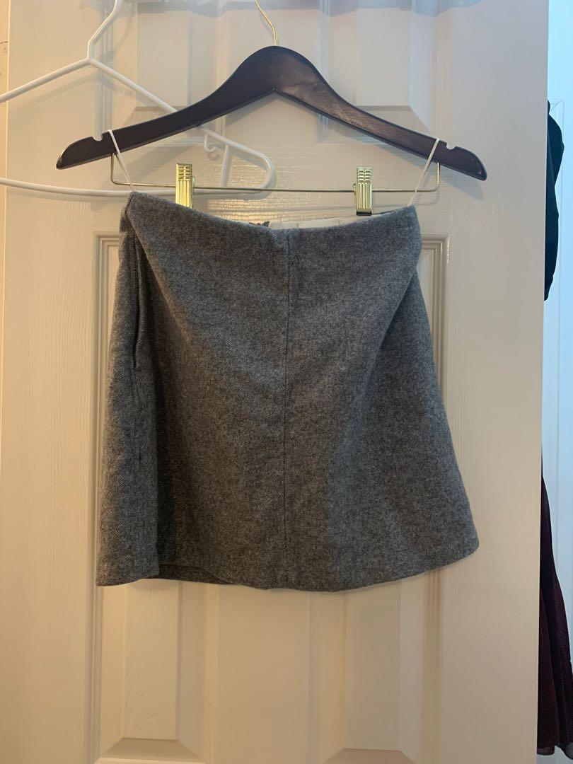 Aritzia Wilfred wool skirt 0