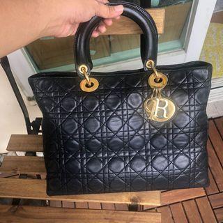 Authentic Christian Dior Lambskin Handbag