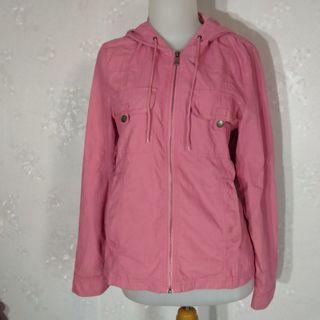 Authentic Ssamzie.s parka jacket in Pink