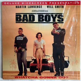 BAD BOYS絕地戰警/Will Smith威爾史密斯(雷射影碟LD)
