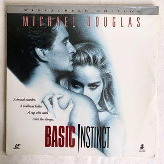 BASIC INSTINCT第六感追緝令/Michael Douglas/Sharon Stone莎朗史東(雷射影碟LD)
