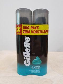 GILLETTE SHAVING GEL 200ML (Duo Pack)