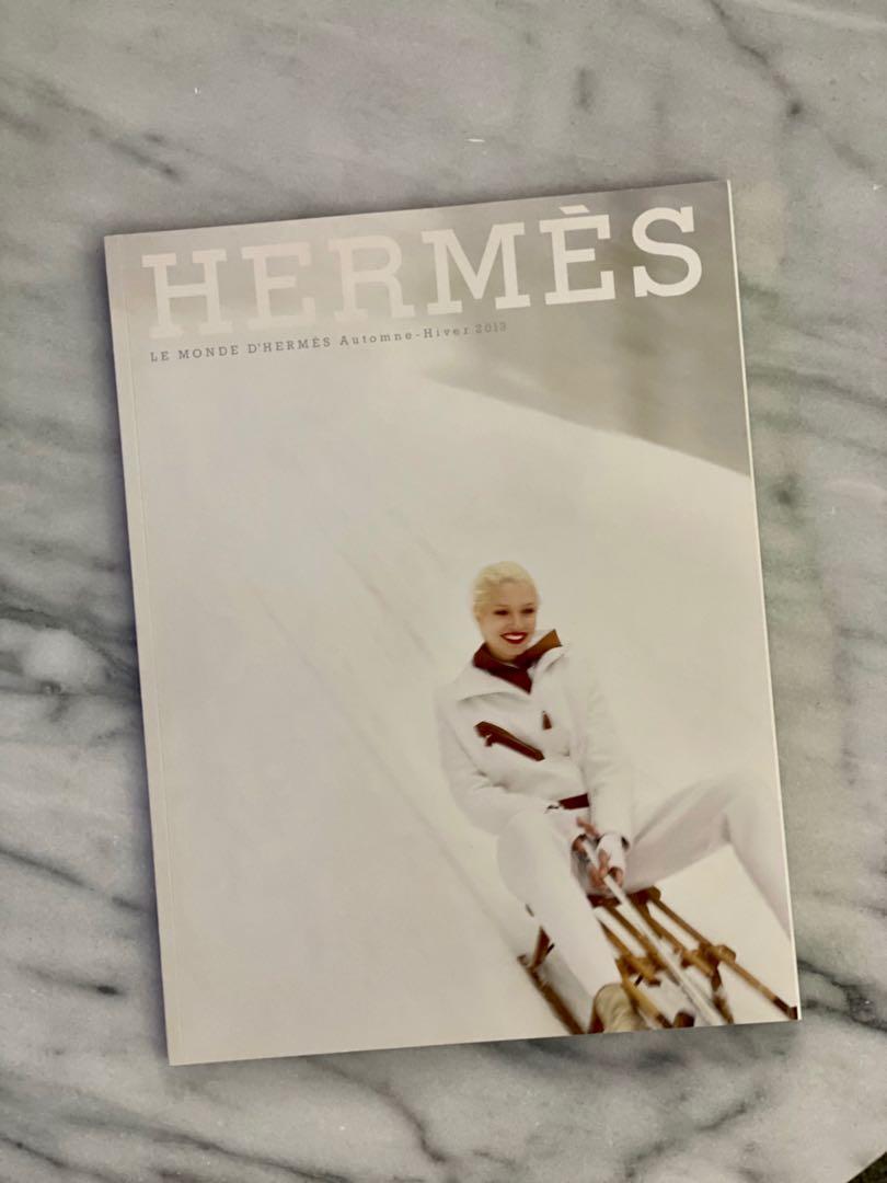 HERMES Le Monde Magazine Catalog Book Autumn 2013 lv chanel