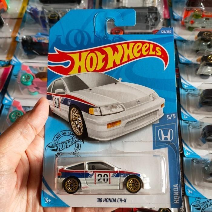 Hot Wheels Hotwheels 88 Honda CRX Putih White