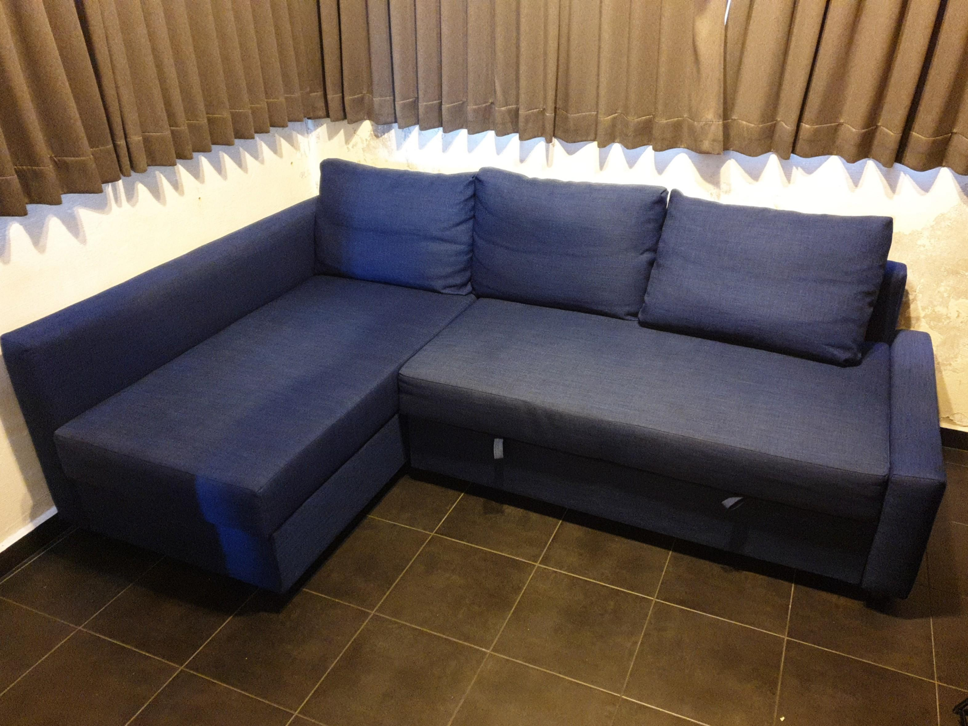 Ikea Sofa Bed With Storage Instructions