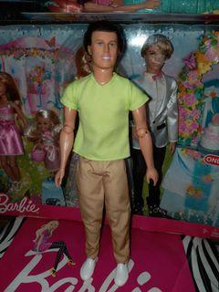 Ken pivotal preloved doll