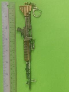 Key Chain - Metal Gun