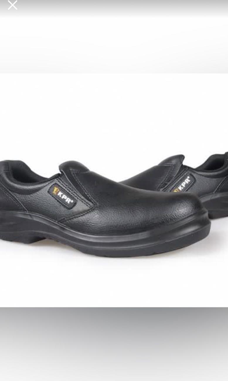 KPR non slip steel toe work shoes