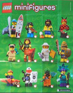 Lego Minifigures series 21 全套21隻 全新已開袋確認