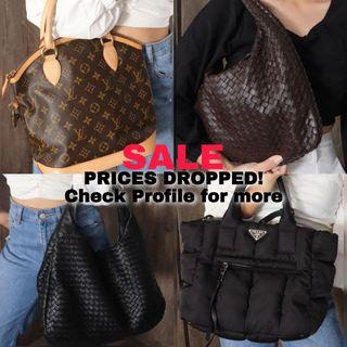 Luxury Handbags LV Prada Bottega Louis Vuitton Kate Spade