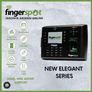 Mesin Absensi New Elegant Series dari Fingerspot